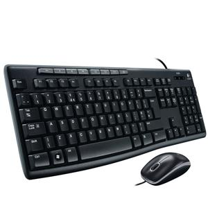 Logitech MK200 Wired Desktop Keyboard and Mouse